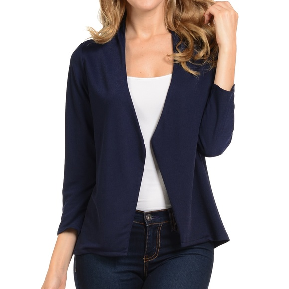 bef6186a3ec90 Navy Blazer for Women. Boutique. Magic Fit